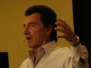 T. Harv Eker speaks at a Millionaire Mind Inte...